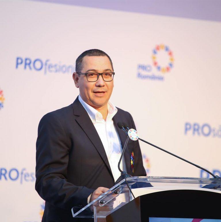 Ponta: Firea ştie cine a înjunghiat-o cu premeditare, chiar din PSD