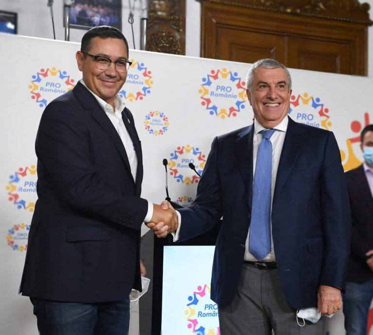 """ALDE și Pro România au fuzionat și ies """"la atac"""" cu """"premierul"""" Victor Ponta"""