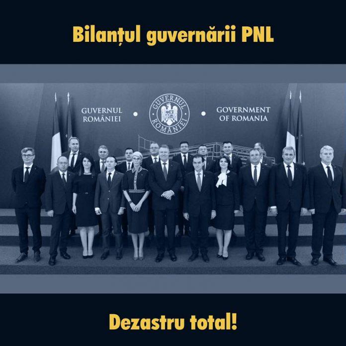 PSD despre guvernul pnl