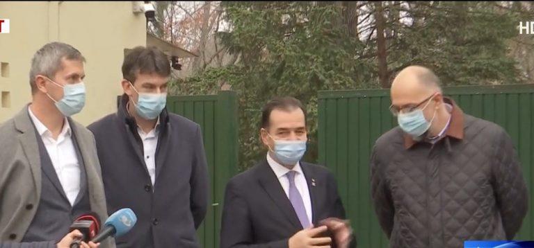 """Orban, Kelemen și Barna, după negocierile de la Vila Lac: """"Am decis să continuăm discuțiile"""""""