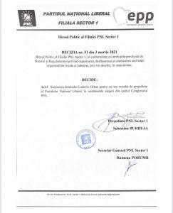 Decizie PNL S1 Orban