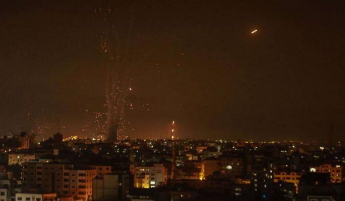 Atac cu rachete Israel