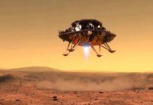 """China a reușit să pună cu succes robotul """"Zhurong"""" pe Marte"""