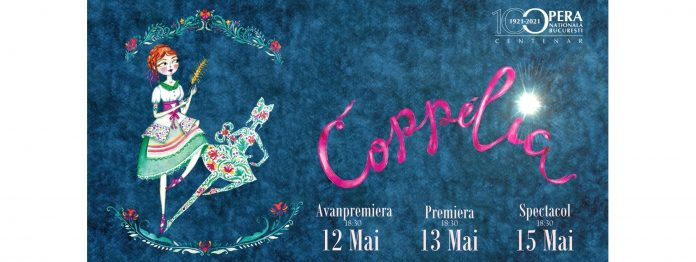 Spectacolul de balet 'Coppelia'