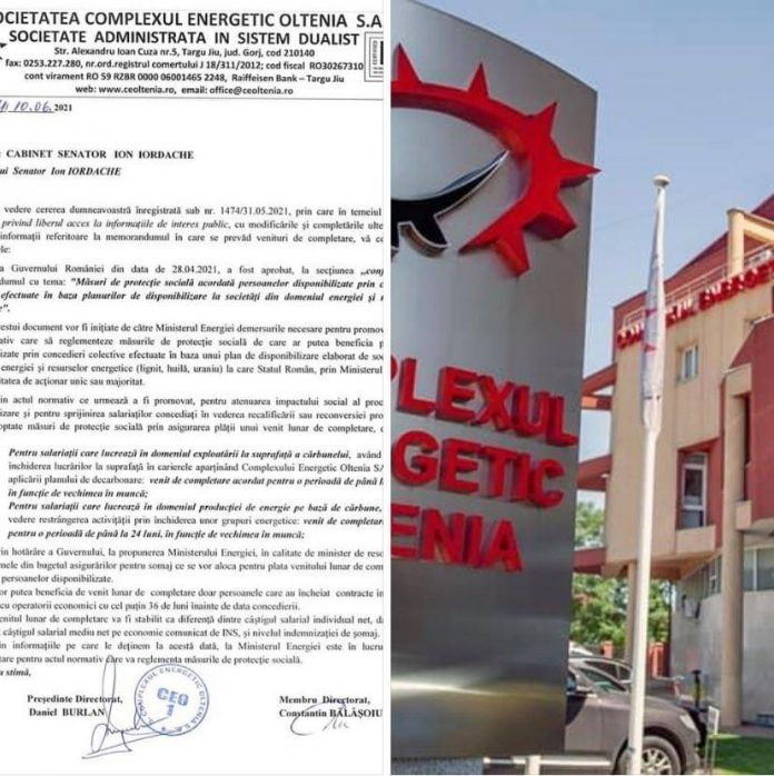 Memorandum CE Oltenia