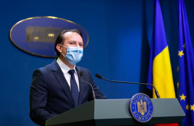 Premierul Cîțu: PNRR e în procent de 95 la sută negociat cu Comisia Europeană