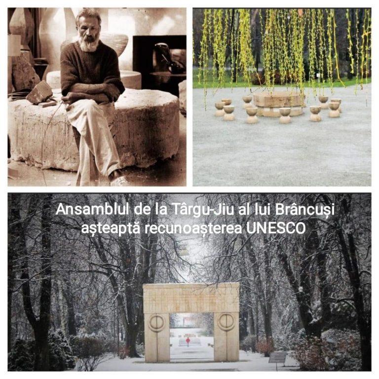 Președintele Comisiei parlamentare UNESCO: Ansamblul Brâncuși de la Târgu Jiu mai are de așteptat pentru a primi recunoașterea UNESCO