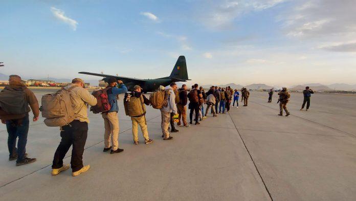 Evacuare Afganistan