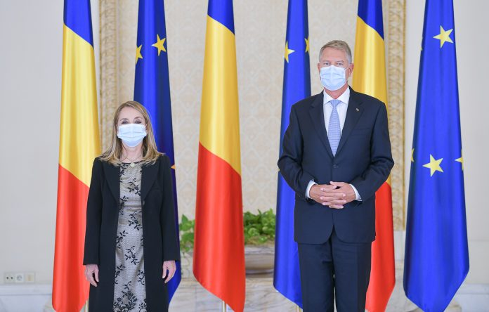 María-Pía Busta-Díaz și Președintele Klaus Iohannis
