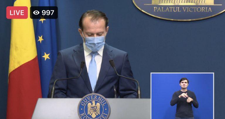 ULTIMĂ ORĂ/ Guvernul Cîțu a adoptat rectificarea bugetară