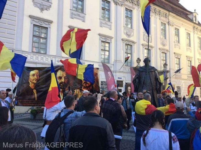 Proteste la Sibiu