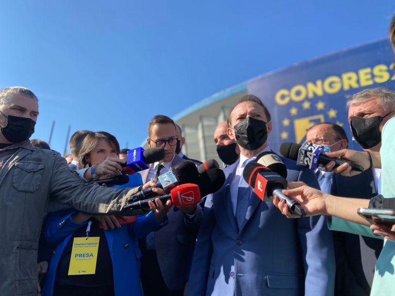 Florin Cîțu a ajuns la Romexpo: După ziua de azi, PNL va fi mai unit și mai puternic FOTO