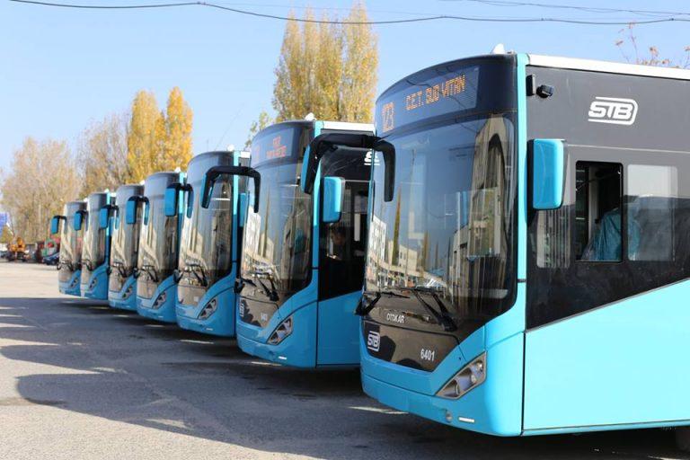 Cinci linii de transport public, suplimentate în Capitală și Ilfov