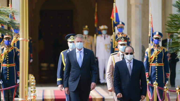 Iohannis: România şi Egiptul reprezintă porţi de intrare spre cele mai importante pieţe economice integrate