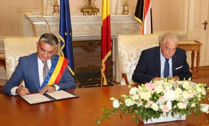 Acord de înfrățire Sinaia - Sharm El Sheikh