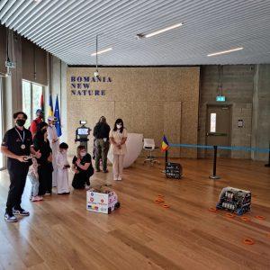 Distracție la Pavilionul României de la EXPO 2020 DUBAI