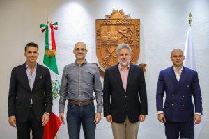 Mexic întâlnire ambasador si consilier economic