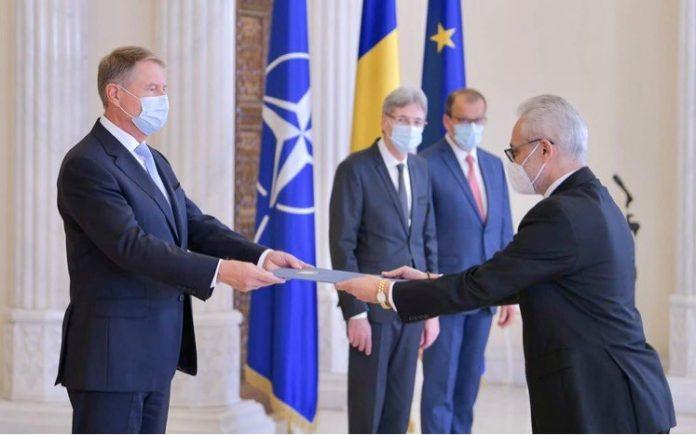 Preşedintele Iohannis l-a primit la Cotroceni pe ambasadorul Egiptului