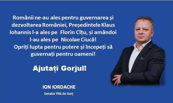 Senator PNL – Scrisoare deschisă către Iohannis și Cîțu: Desemnarea lui Nicolae Ciucă, un premier fără majoritate parlamentară, forțând o alianță cu PSD, întrece orice limită!