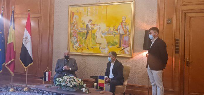 Vlad Oprea și Guvernatorul Sinaiului de Sud(Egipt)