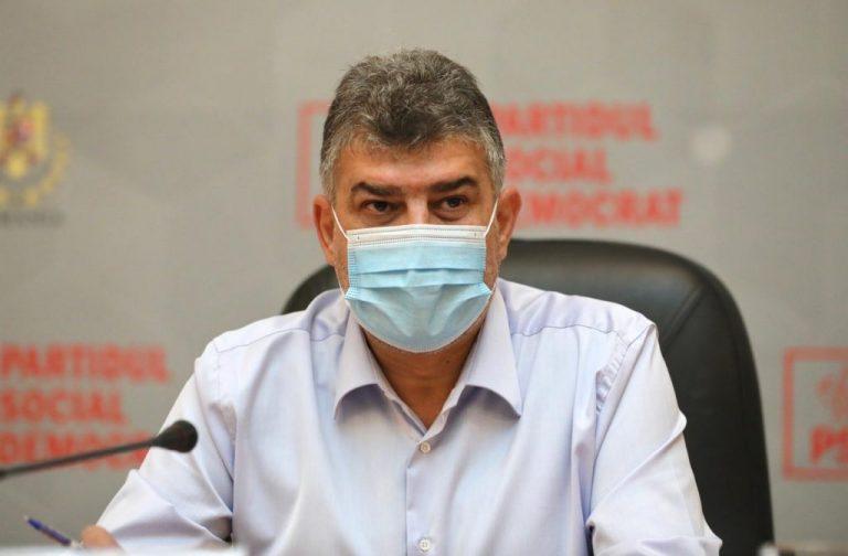 Marcel Ciolacu, liderul PSD: Despre criza sanitară, ar trebui să lăsăm specialiştii să se pronunţe
