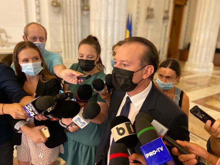 Florin Cîțu: Marți venim în Parlament cu lista Guvernului Ciucă