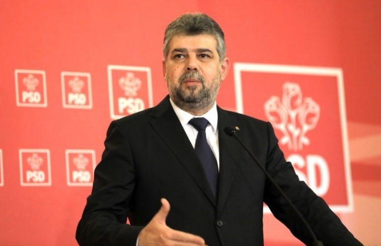Marcel Ciolacu, liderul PSD: Vrem să avem în România iarăşi un guvern zero?